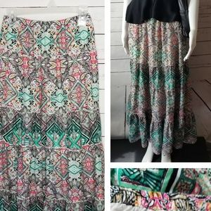 Style and Co maxi skirt Small